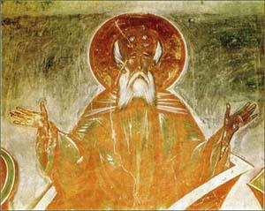 Молитвенная поза с воздетыми руками