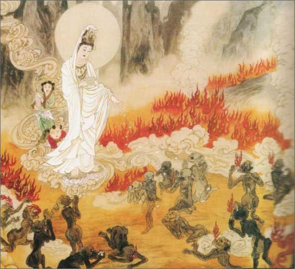Нарака. Понятие об адских мирах в индуизме и буддизме
