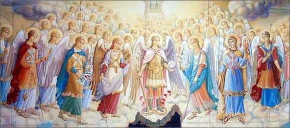 Ангелы и Архангелы. Небесная иерархия