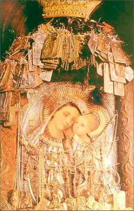 Богородица-Целительница (панагия Гиатрисса)
