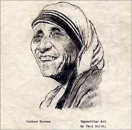 Мать Тереза - художник Пол Смит