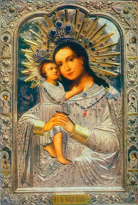 Взыскание погибших: чудотворная икона Богородицы