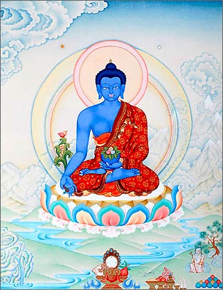 Будда Медицины - изображение
