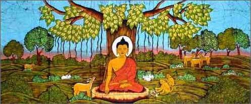 Медитация Будды с заземлением