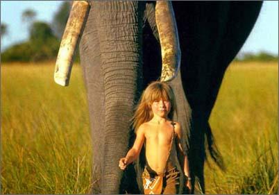 Фото человека в дикой природе