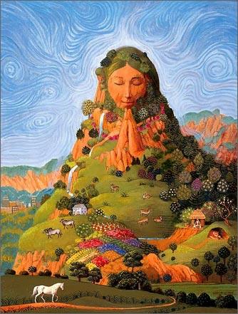 Картинка - земля-Матушка живая