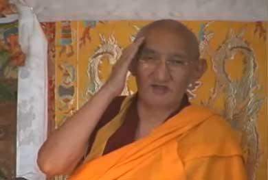Немного о духовной практике в буддизме