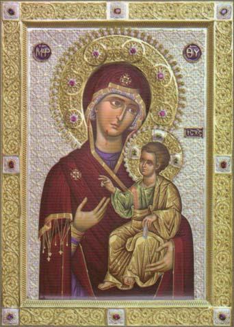 Чудотворная Икона Пресвятой Богородицы «Вратарница Афона» («Портаитисса»)