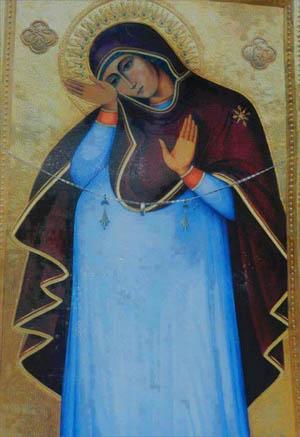 Икона беременной Богородицы