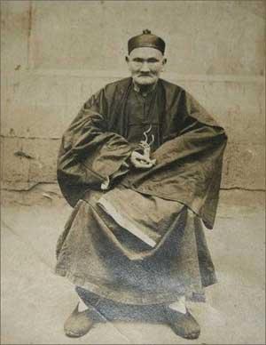 китайский травник-долгожитель