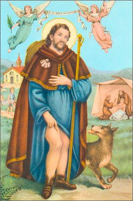 Святой Рох и его собака