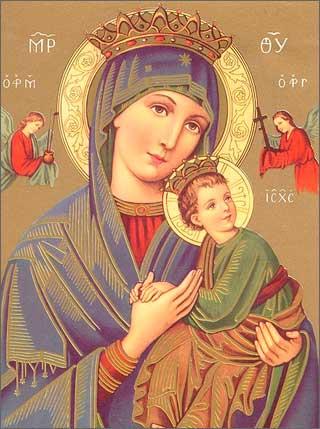 Мария и Христос