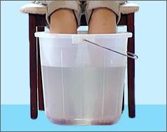Очищение от негатива при помощи воды и соли