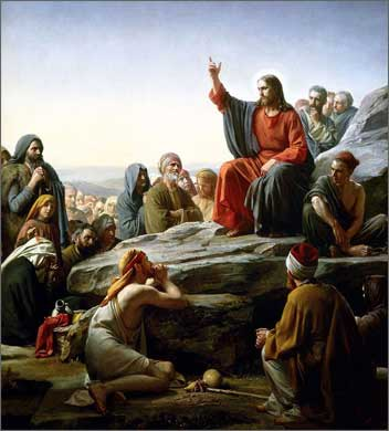 Христос заповеди блаженств