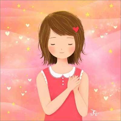 Картинка - о любви и благе