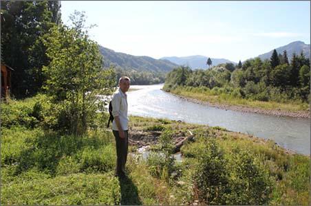 Это река, которая помогала в духовной работе (интенсив-2016)